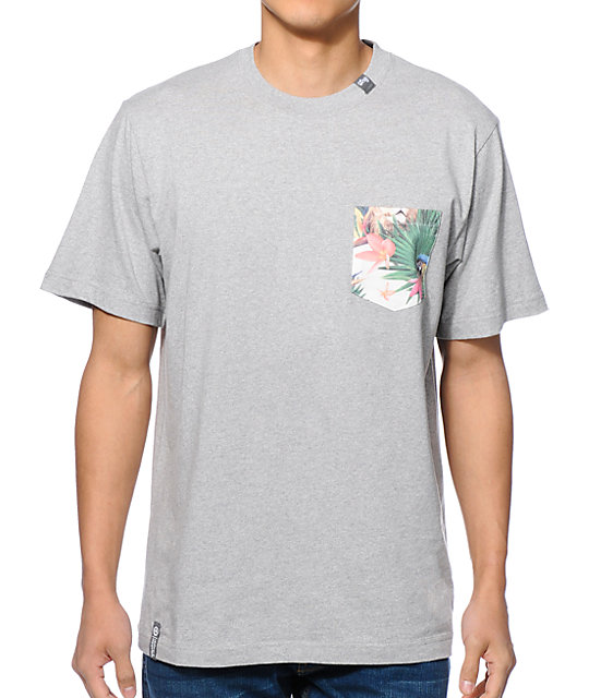 Lrg hawaiian safari pocket t shirt at zumiez pdp for Pocket t shirt printing