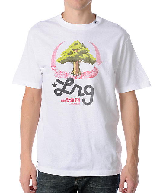 LRG Here We Grow Again White T-Shirt