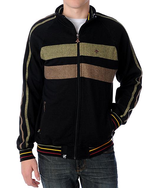 LRG High Life Black Track Jacket