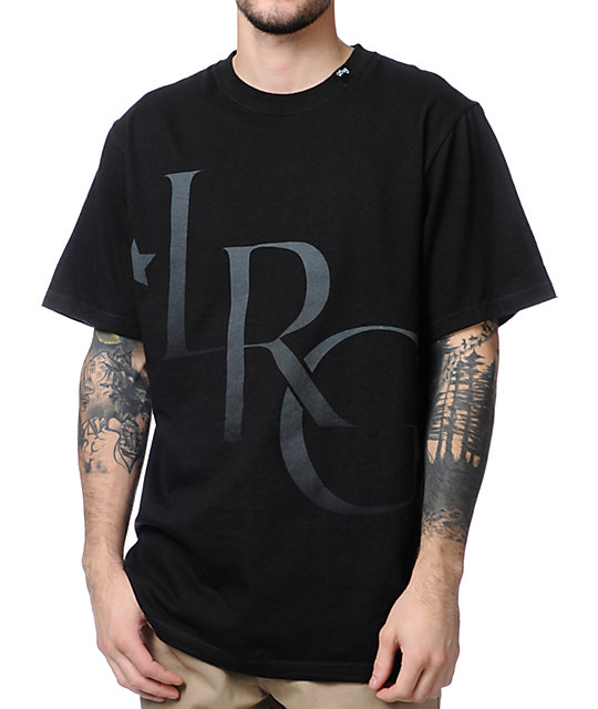 LRG Home Stead Black T-Shirt
