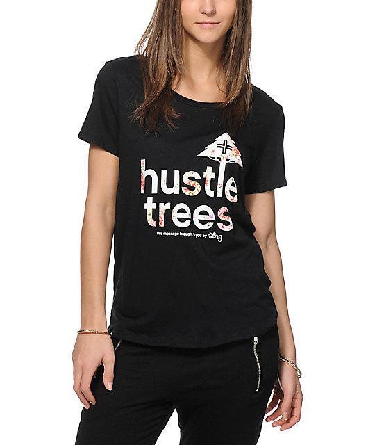 Lrg Hustle Trees Boyfriend Fit T Shirt