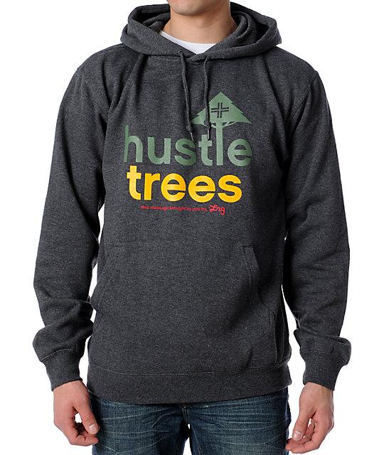 LRG Hustle Trees Grey Pullover Hoodie