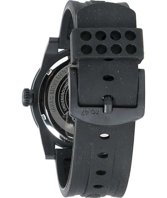 LRG Icon Art Series Black & Camo Analog Watch