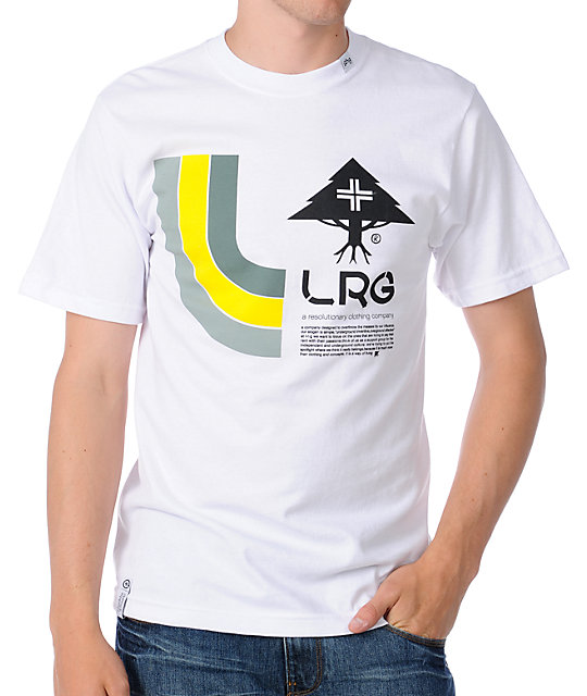 LRG Instant Classic White T-Shirt