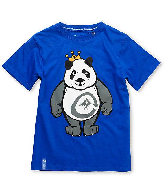 LRG King Of Style Boys Blue T-Shirt