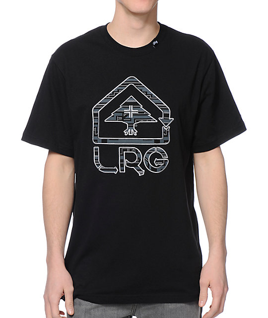 LRG King Tshaka Black T-Shirt