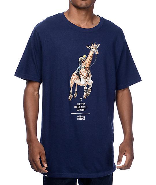 LRG Leaps N Bounds Navy T-Shirt