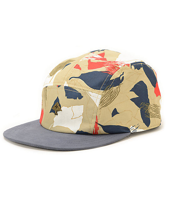 LRG Leaves Roots Grow 5 Panel Hat