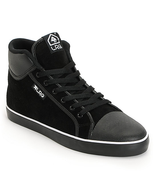 LRG Linden Black Suede Shoes