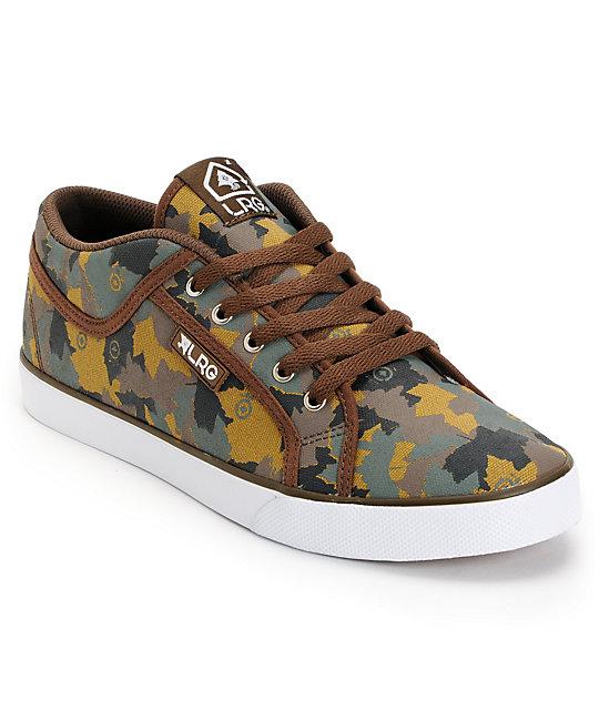 lrg maple camo canvas shoes
