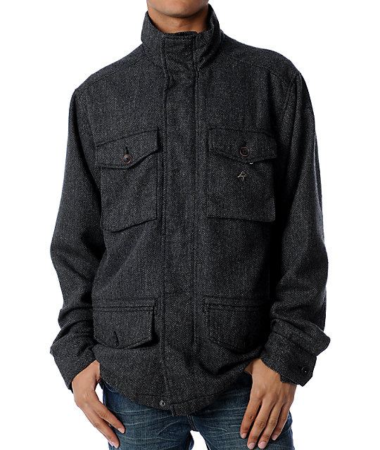 LRG Mens Mercer Charcoal Jacket