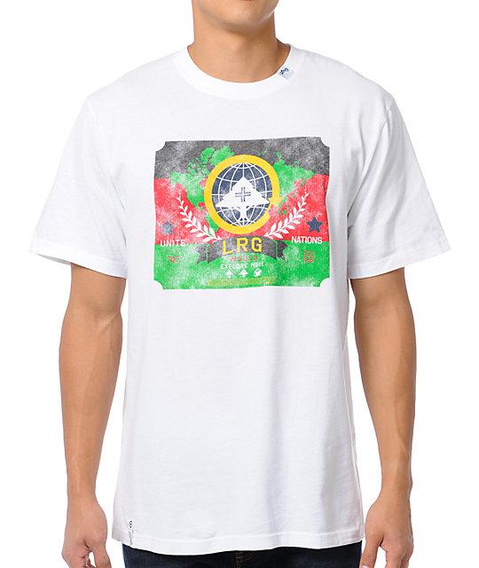 LRG Nation of Trees White T-Shirt