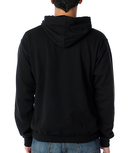 LRG Natural Cycle Black Pullover Hoodie