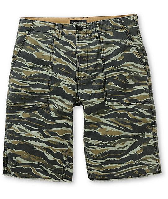 LRG OG Army Tiger Camo Shorts