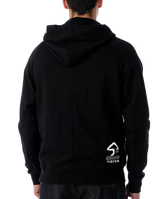 LRG Omega Workshop Black Hoodie