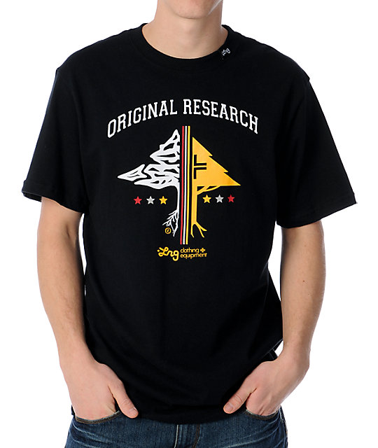 LRG Original Researchers Black T-Shirt
