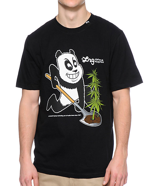 LRG Panda Strain Black T-Shirt
