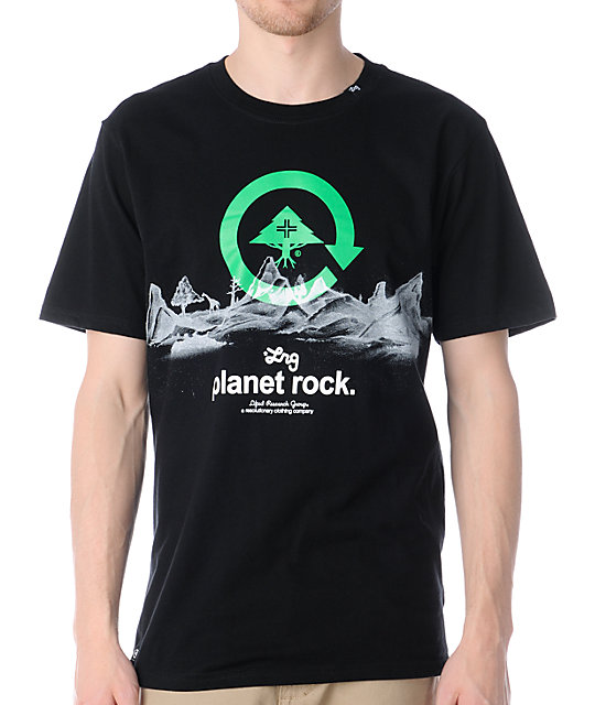 LRG Planet Rock Black T-Shirt