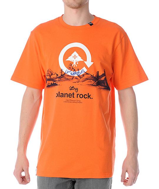 LRG Planet Rock Orange T-Shirt