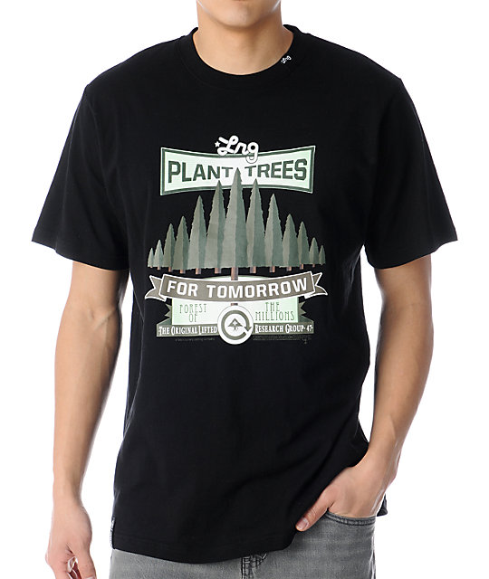 LRG Plant Trees Black T-Shirt