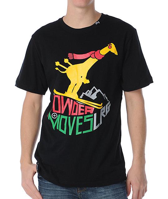LRG Powder Moves Black T-Shirt