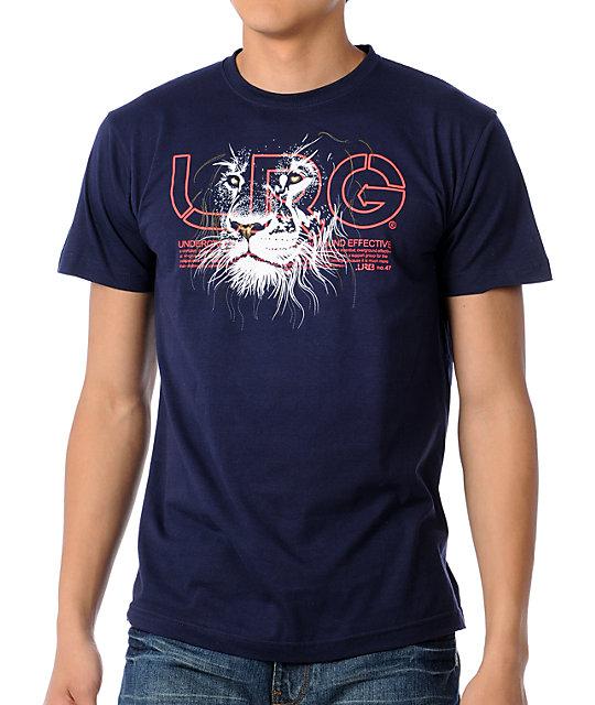 LRG Prideful Lion Navy T-Shirt
