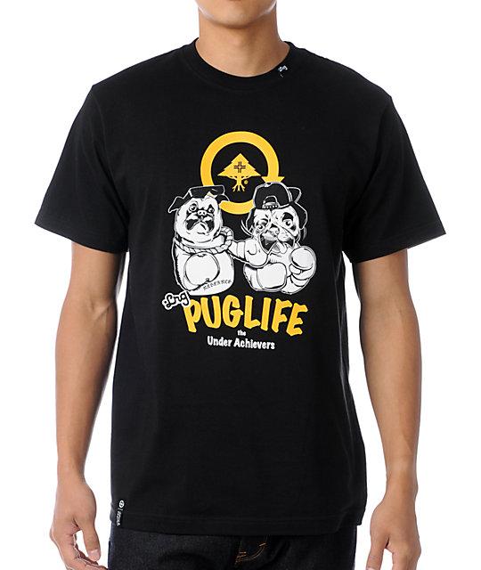 LRG Pug Life Black T-Shirt