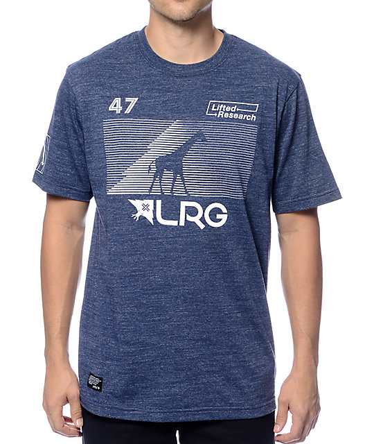 LRG RC Heather Navy T-Shirt