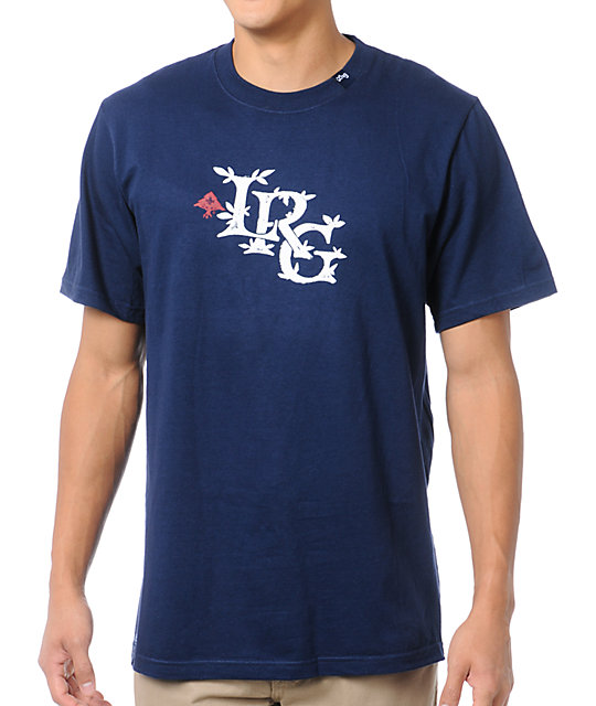 LRG Resolutionary Thinking Navy Blue T-Shirt