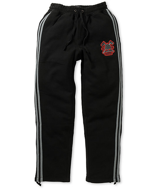 LRG Rockwood Black Fleece Sweatpants