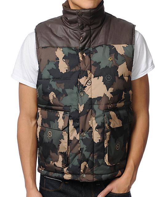 LRG Root Down Camo Vest