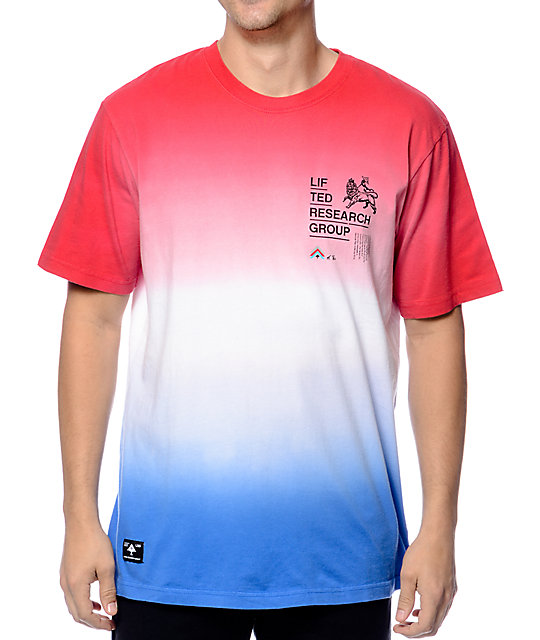 LRG Roots Rock Watermelon Tie Dye T-Shirt