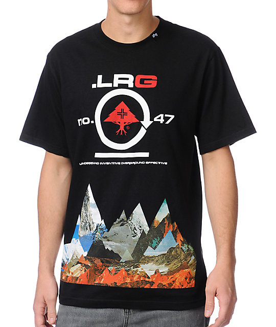 LRG Rugged Alpine Black T-Shirt