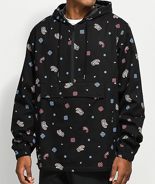 LRG Skillz Black Anorak Jacket