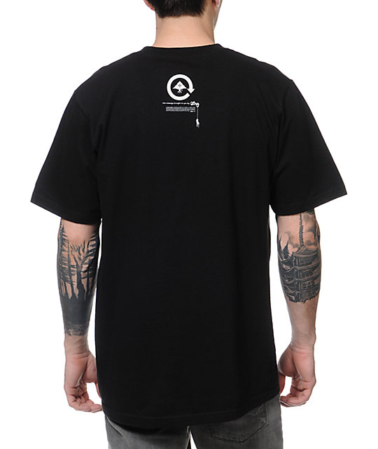 LRG Son Of The Lion Black T-Shirt