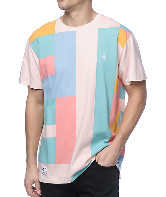 LRG Spectra Light Pink Geo T-Shirt