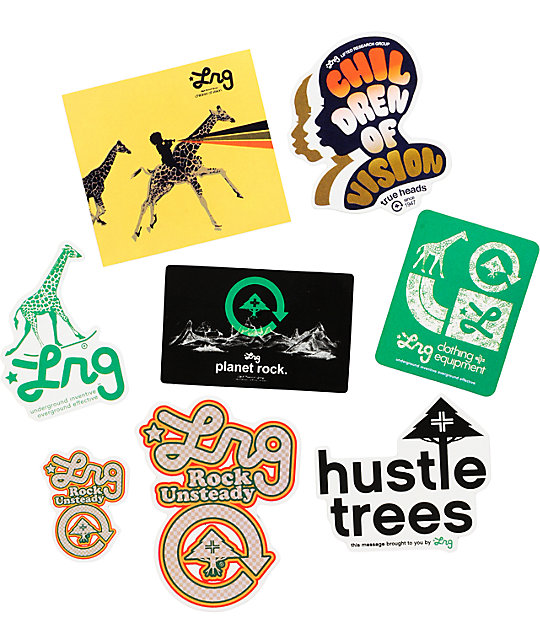 LRG Spring Sticker Pack