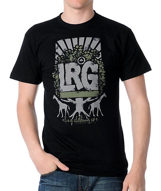 LRG Sunburst Tree Black T-Shirt