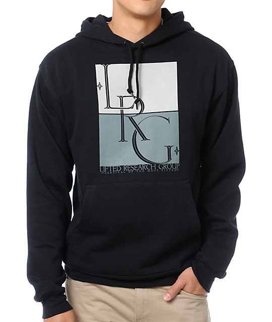 LRG Survival Of The Most Black Pullover Hoodie
