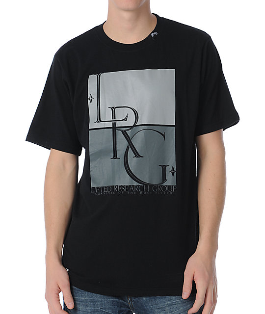 LRG Survival Of The Most Black T-Shirt
