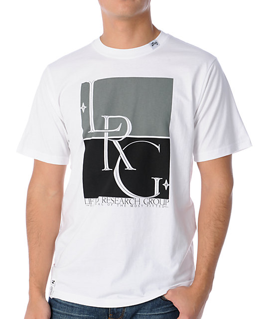 LRG Survival Of The Most Fitted White T-Shirt