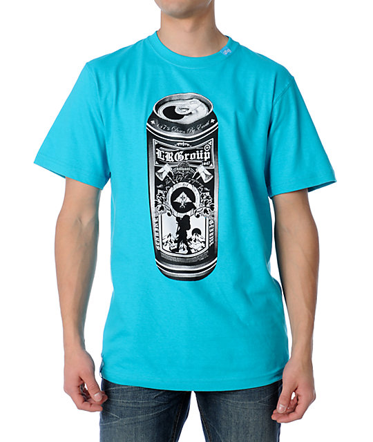 LRG Tall Boy Turquoise T-Shirt