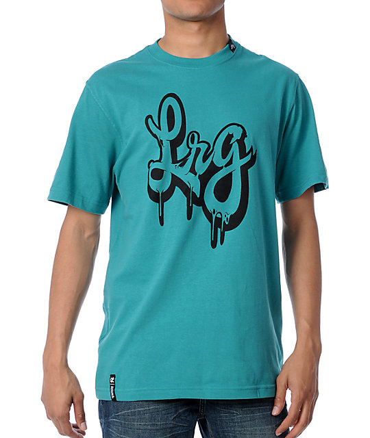 LRG The Inkwell Teal Mens T-Shirt