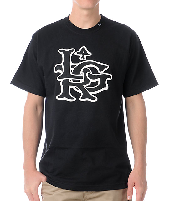LRG The Rugged Black T-Shirt