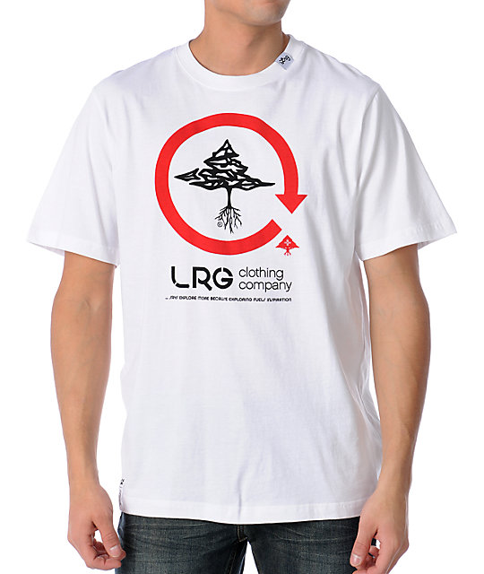 LRG The Voyager White T-Shirt