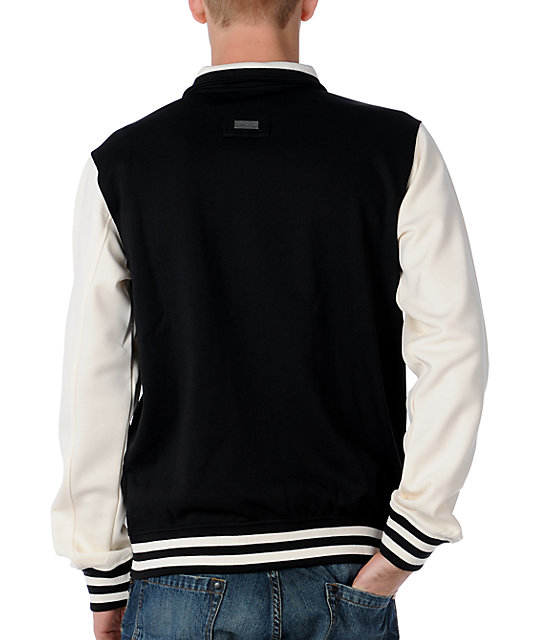 LRG Top Seed Black & White Track Jacket