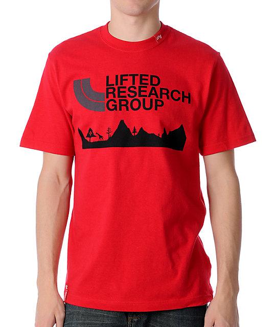 LRG Towering Summit Red T-Shirt