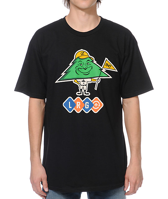 LRG Tree Man Black T-Shirt