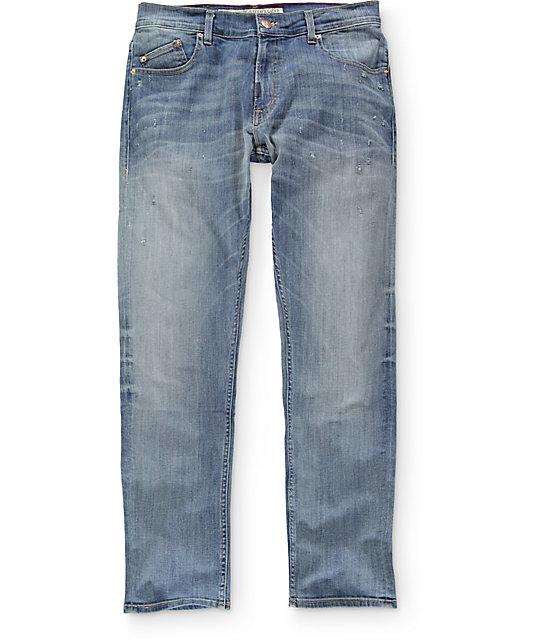 LRG True Taper Light Destroyed Regular Fit Jeans