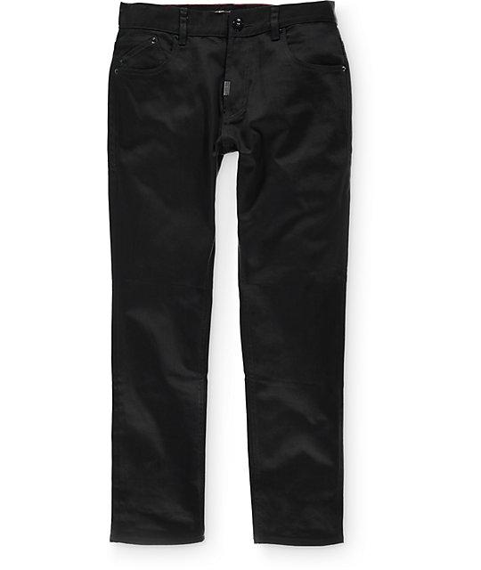 LRG True Taper Triple Black Regular Fit Jeans